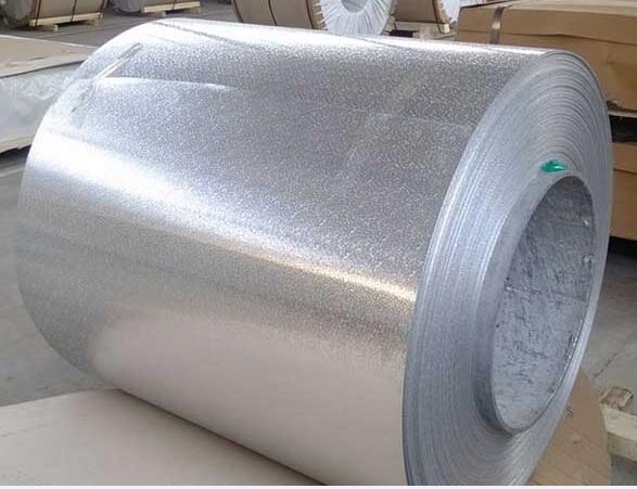 Anodized stucco embossed aluminum coil