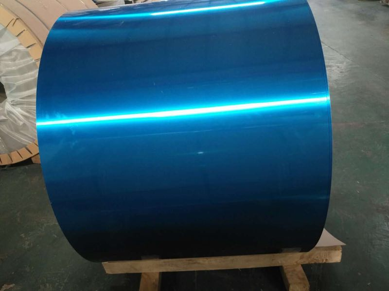 PVDF blue color aluminum coil